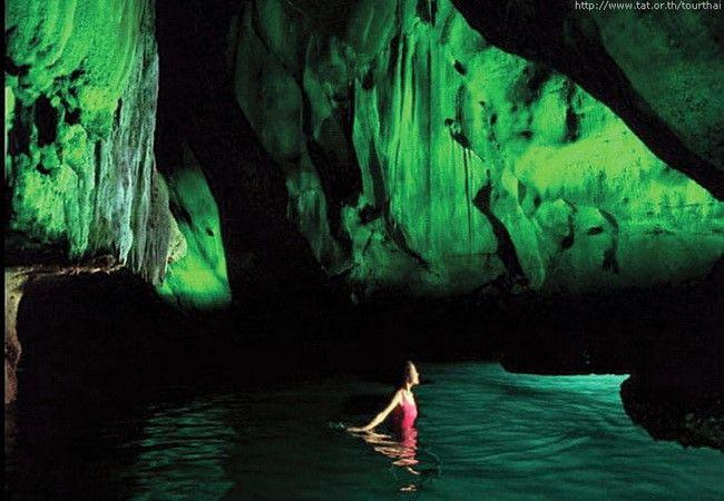 Emerald Cave near Koh Muk