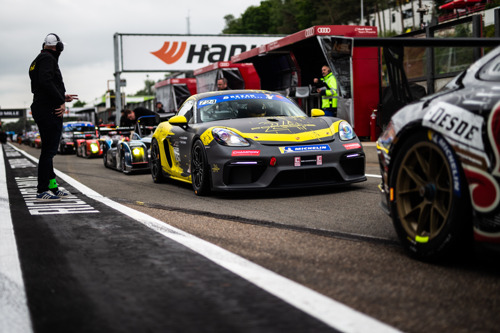 Bewogen start voor de Porsche Endurance Trophy in Zolder!