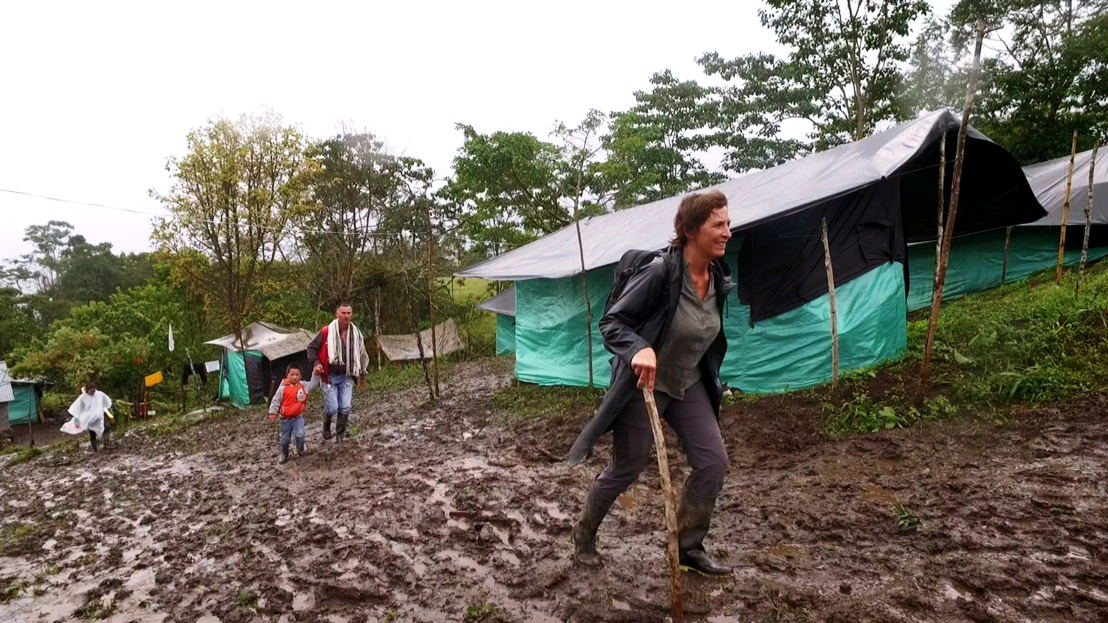 Amazones: aflevering 2 - Phara in Icononzo - (c) VRT
