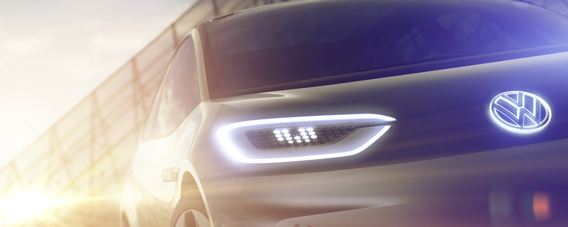 Mondial de l'Automobile Paris 2016 Volkswagen presents an electric car for a new era