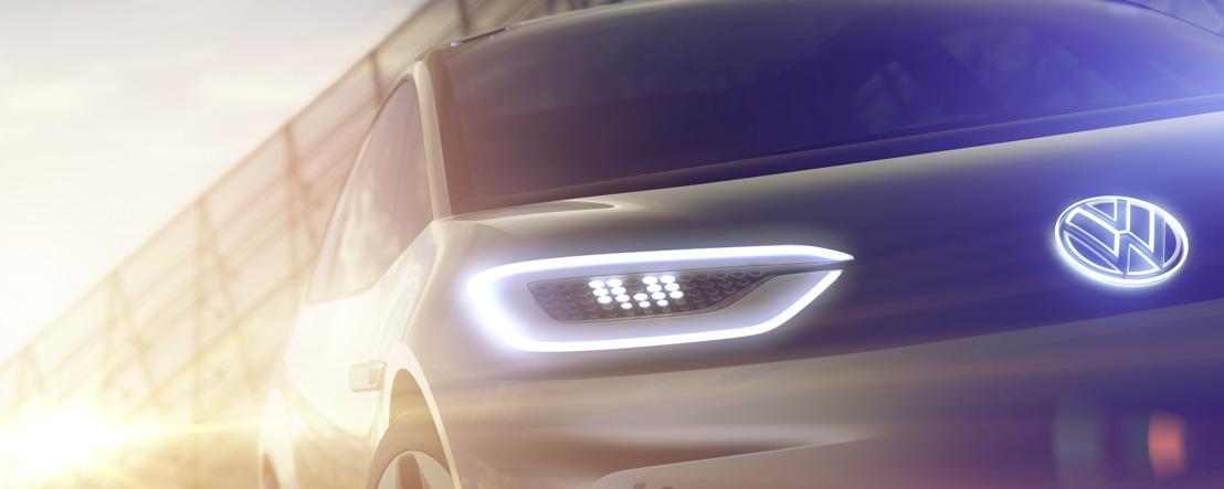 Mondial de l'Automobile Paris 2016 Volkswagen presents an electric car for a new era