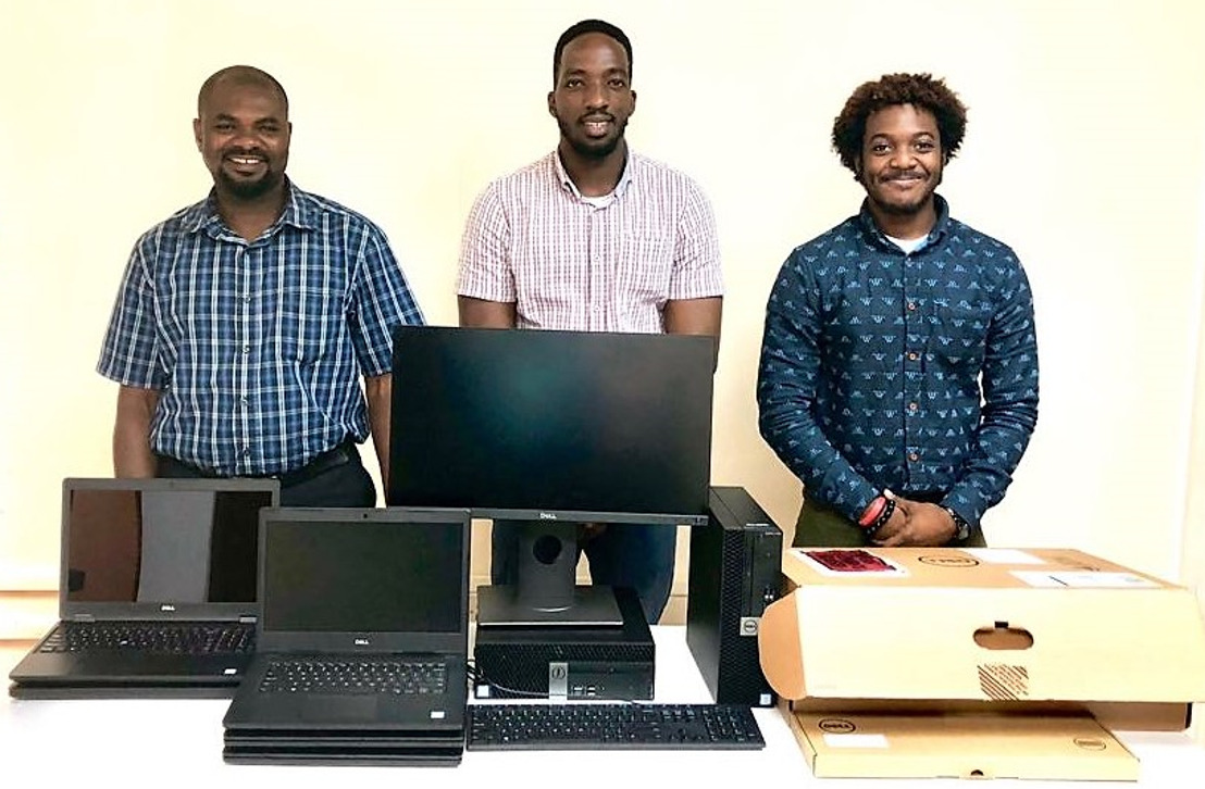 Grenada receives equipment for transition to computer-assisted data collection