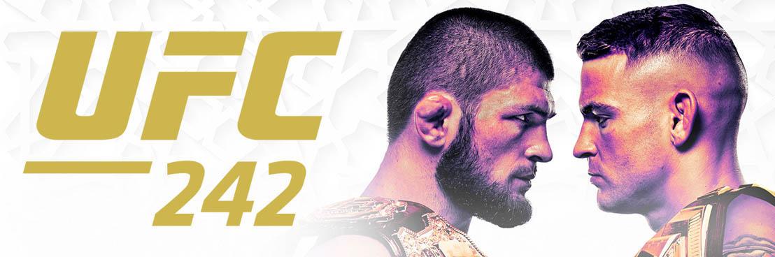 UFC 242: Diamonds and Eagles — Khabib Nurmagomedov vs. Dustin Poirier