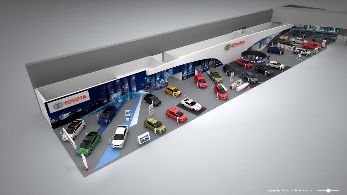 Toyota au Salon de Bruxelles 2017