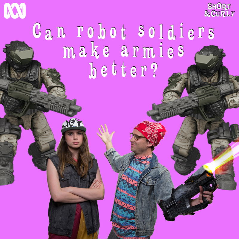 Can robot soldiers make armies better? SQ