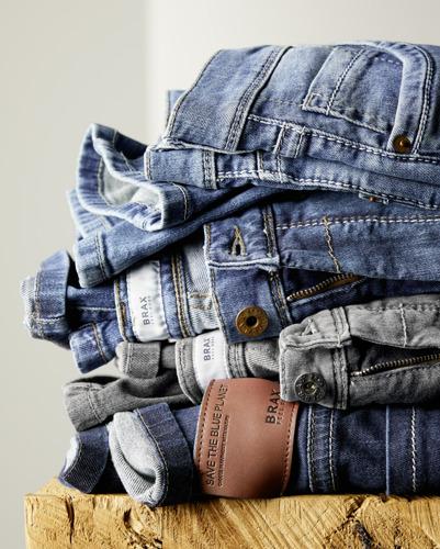 Save the Blue Planet, de duurzame jeanslijn van BRAX