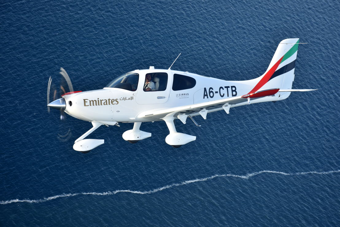 The Cirrus SR22 G6 aircraft will form the backbone of the Emirates Flight Training Academy's training fleet.