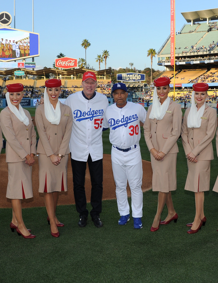 There's nothing little about Little League?: The LA Dodgers batter up for a Dubai Visit