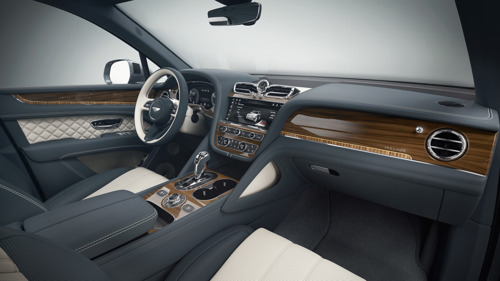 BESPOKE BENTAYGAS – NEW OPTIONS VIA MULLINER PERSONAL COMMISIONING GUIDE