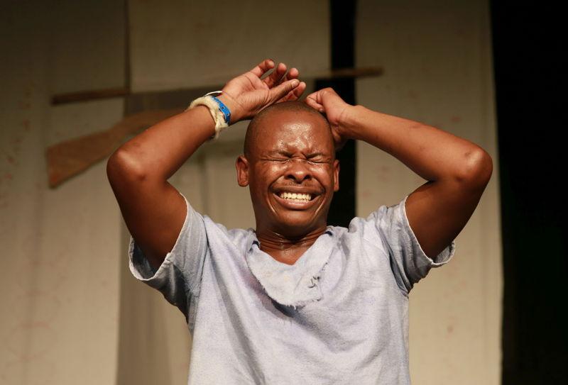 Thobani Nzuza in Boy Ntulikazi. Image by Nardus Engelbrecht