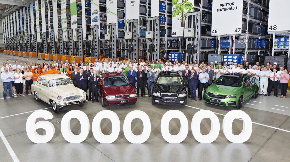 Milestone for the heart of the brand: Six-millionth ŠKODA OCTAVIA produced
