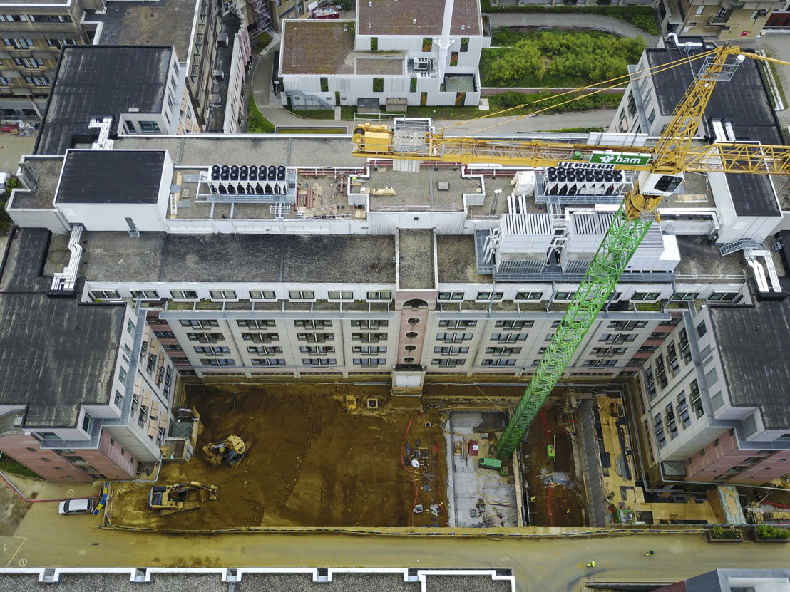 Luchtfoto Health Sciences campus Gasthuisberg<br/><br/>© UZ Leuven