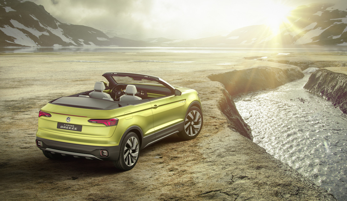 T-Cross Breeze is eerste SUV cabriolet in de Polo-klasse