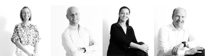 Vier nieuwe gezichten bij investeringshuis Buysse & Partners