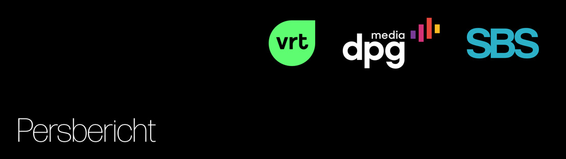 VRT, DPG Media en SBS solidair met slachtoffers watersnood