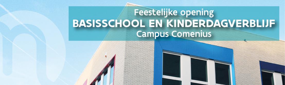 Nieuwe basisschool en kinderdagverblijf campus Comenius openen de deuren