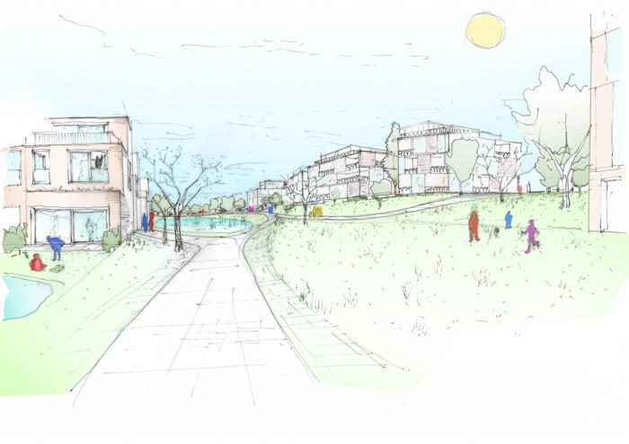 Iconische Kodakfabriek wordt een duurzame en groene woonwijk