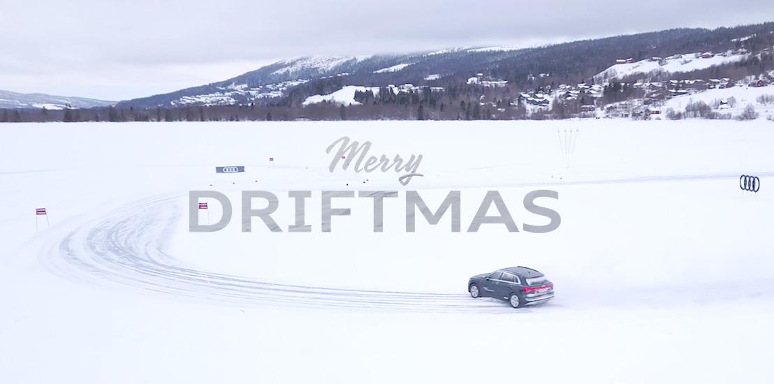 Prophets et Audi vous souhaitent un « Merry Driftmas »