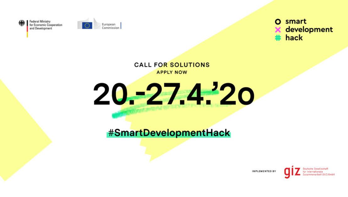 #SmartDevelopmentHack: Digitalisation for Development
