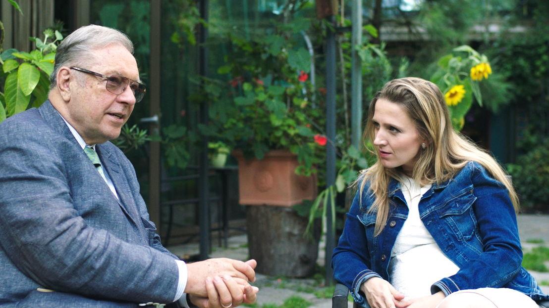 Krzysztof Zanussi en Alicja Gescinska - (c) Kris Van de Voorde
