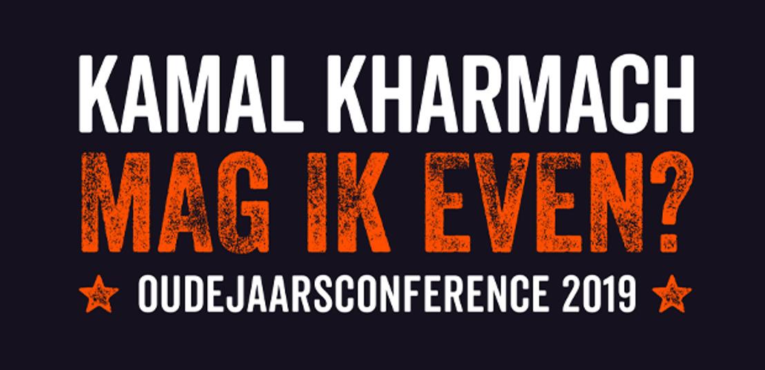 Kamal Kharmach maakt oudejaarsconference