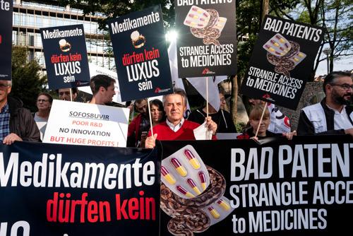 Artsen Zonder Grenzen verontwaardigd over beslissing van het EOB over patent sofosbuvir