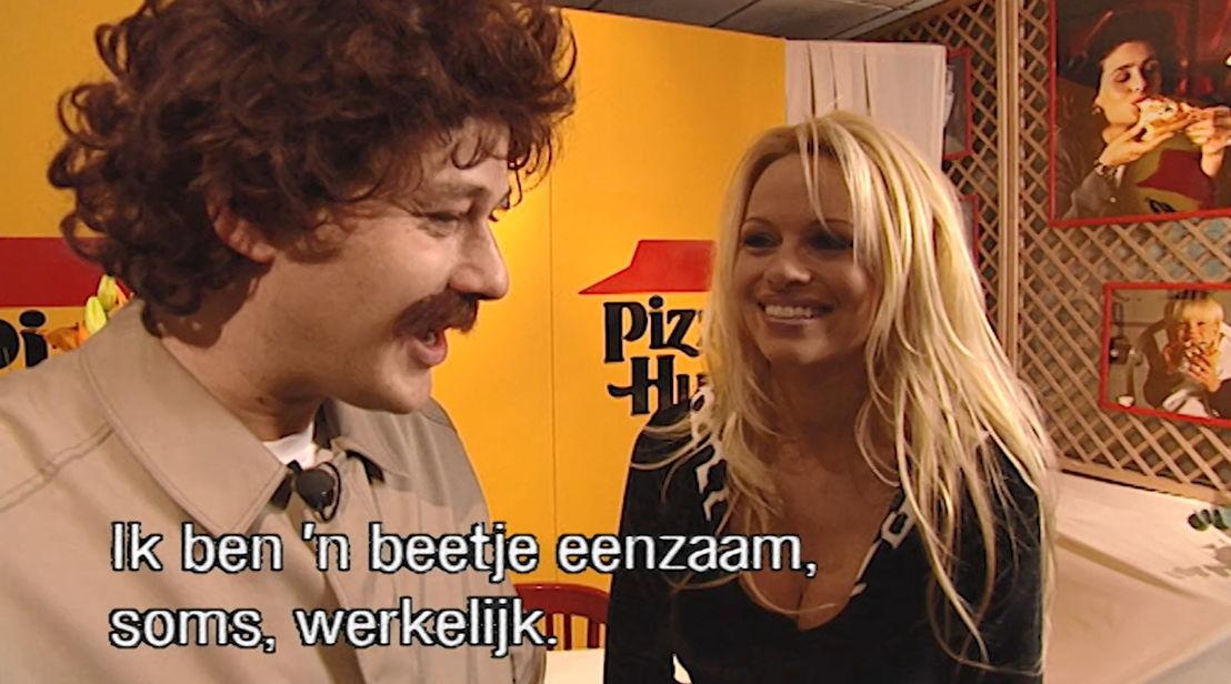 1997 : De man van Melle en Pamela Anderson - (c) VRT