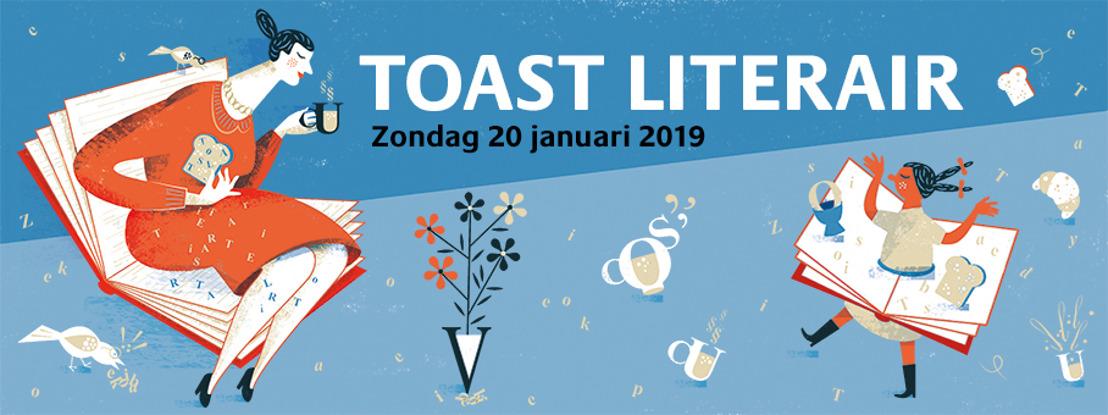 Ontbijt samen met Griet op de Beeck en Stefan Hertmans tijdens Toast Literair