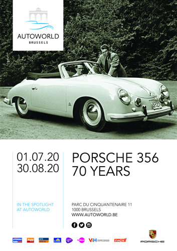 Du 1er juillet au 30 août 2020 « Porsche 356 - 70 Years » … in the spotlight