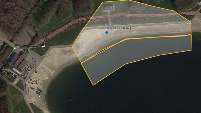 Provinciaal domein Nieuwdonk in Berlare bakent strand- en zwemzone af en voert reservatiesysteem in
