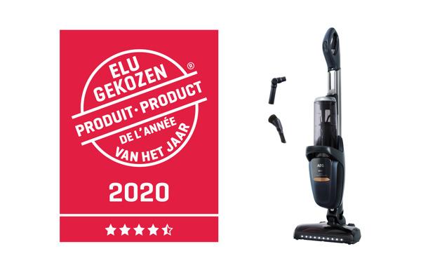 Preview: L'aspirateur FX9 de AEG élu produit de l'année 2020 !