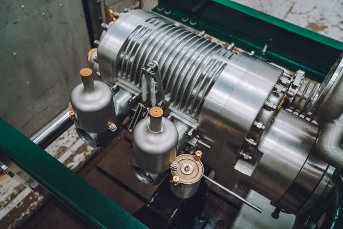 BENTLEY'S NEW BLOWER ENGINES COME TO LIFE IN CREWE