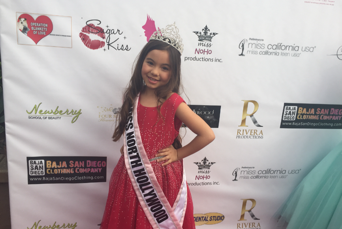 Hailey Garibay Is Crowned Junior Miss North Hollywood