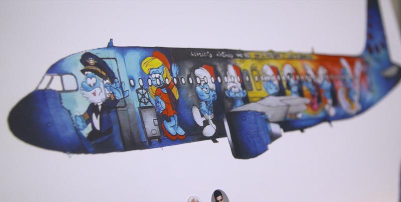 The Smurfs - by Martha Mascellani