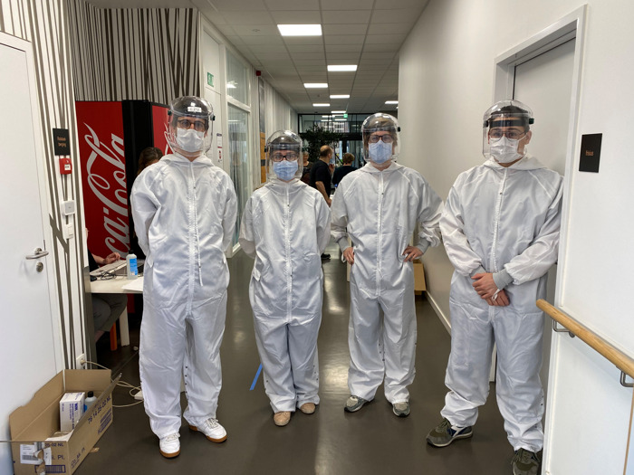 Mobiel UZ Leuven-team ondersteunt Leuvense woonzorgcentra