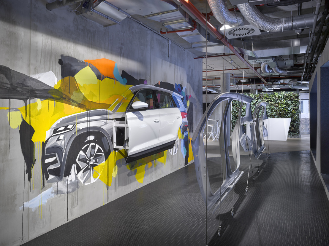 Czech and Slovenian heads of government visit the ŠKODA DigiLab