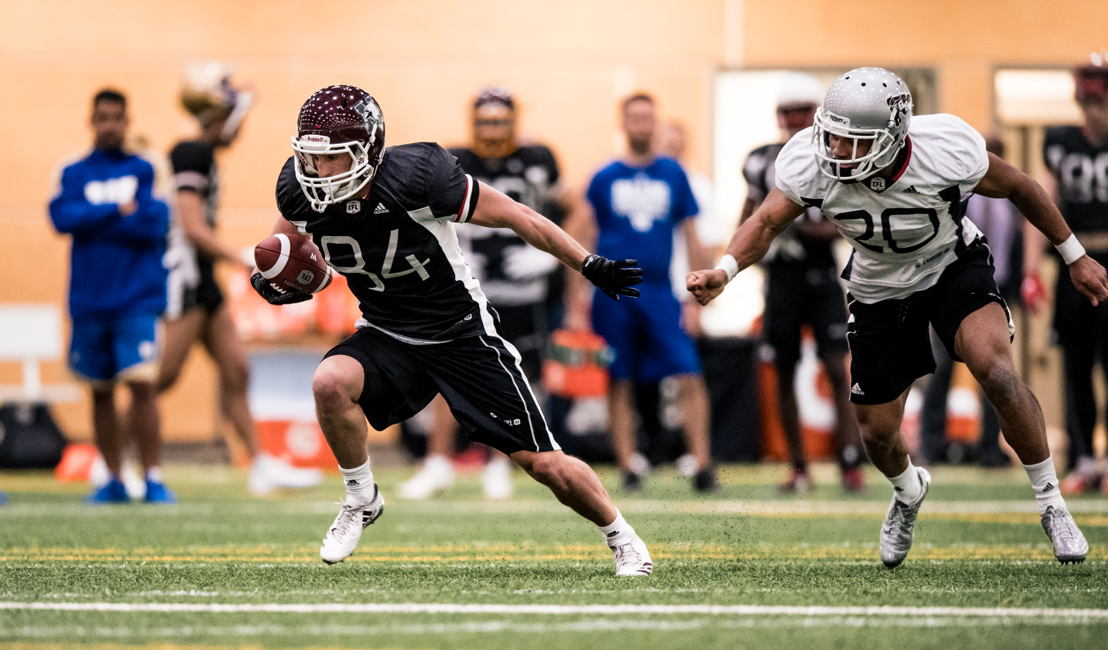 No. 17 REC Daniel Petermann, McMaster (Photo Credit: Johany Jutras/CFL)