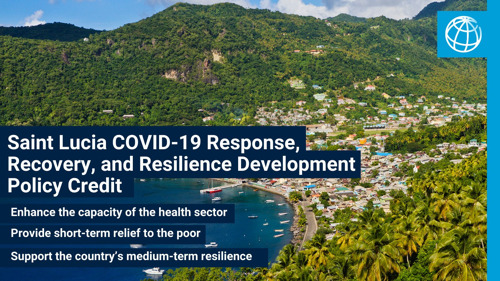 World Bank Approves US$30 Million Credit for Saint Lucia's COVID-19 Response, Recovery, and Resilience