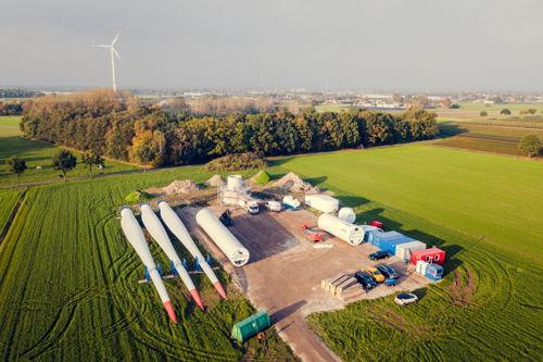 Preview: Open werf Storm-windpark Minderhout