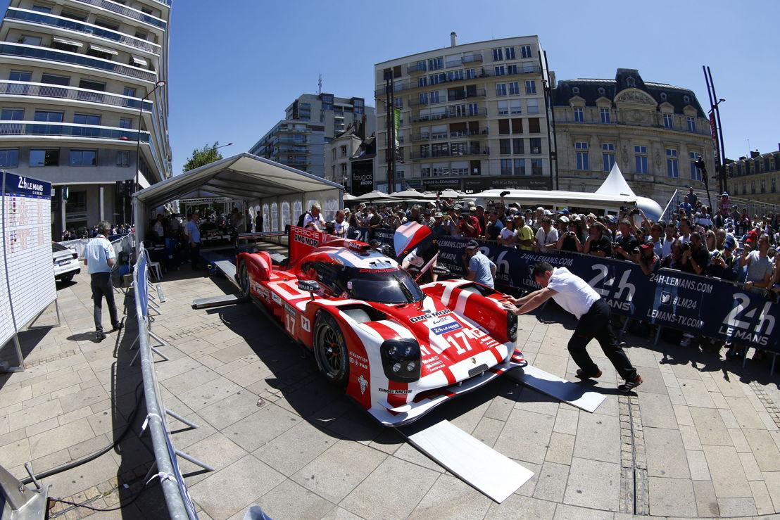 Porsche 919 Hybrid (17), Porsche Team: Timo Bernhard, Mark Webber, Brendon Hartley
