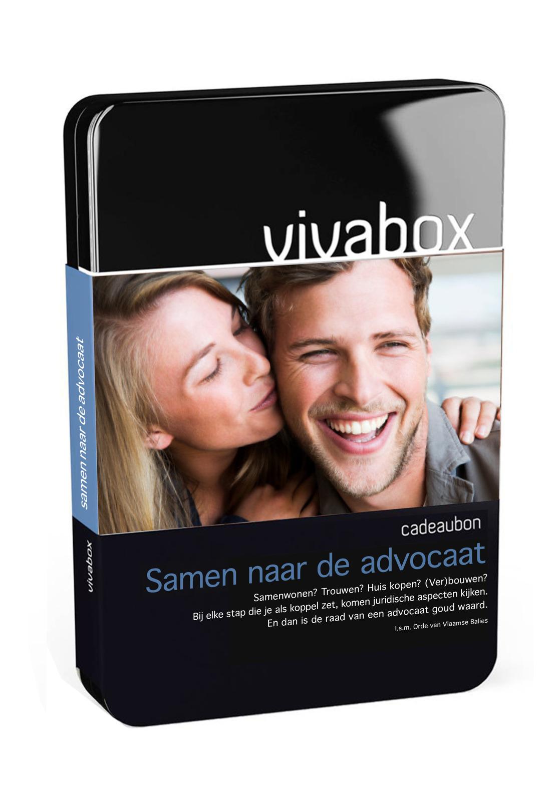 Famous lance un nouveau coffret Vivabox pour Orde van Vlaamse Balies : Samen naar de Advokaat