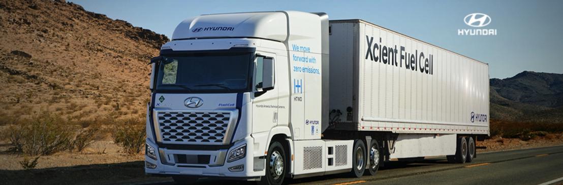 Hyundai XCIENT Fuel Cell recorre las carreteras de California