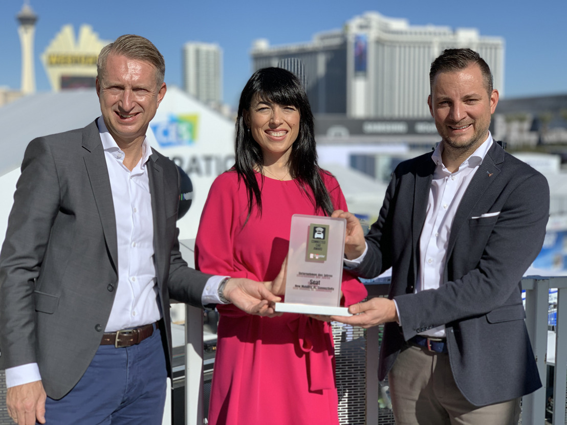 SEAT named Company of the Year at CES 2020