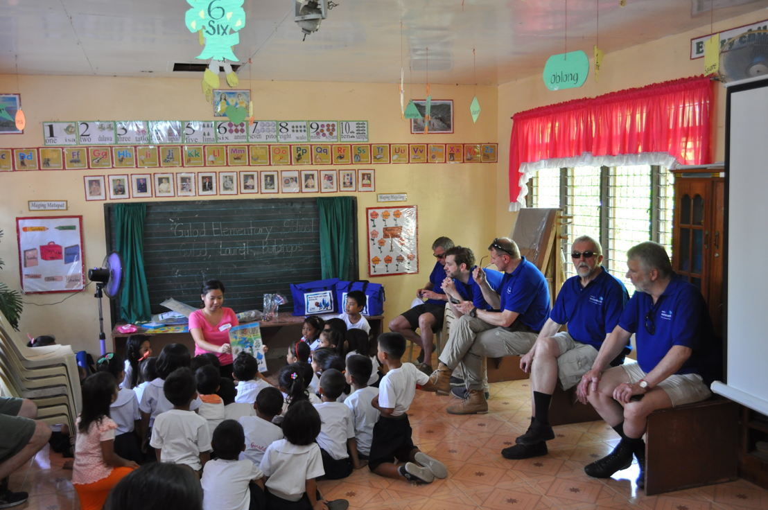 Children are made aware of the importance of drinkable water