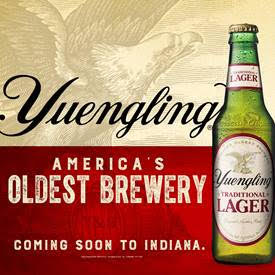 Yuengling expands distribution to Indiana
