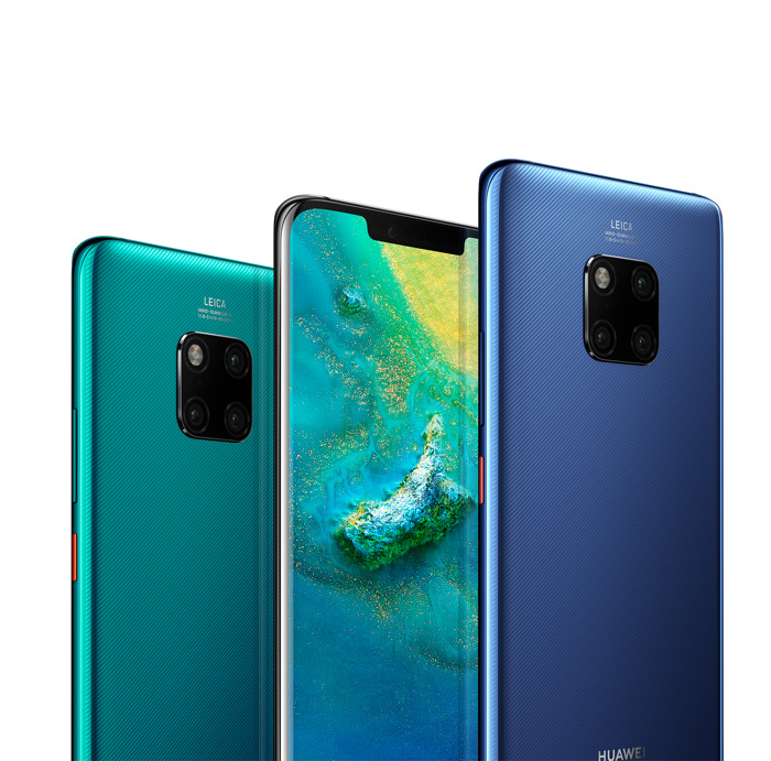 Huawei onthult HUAWEI Mate 20-serie