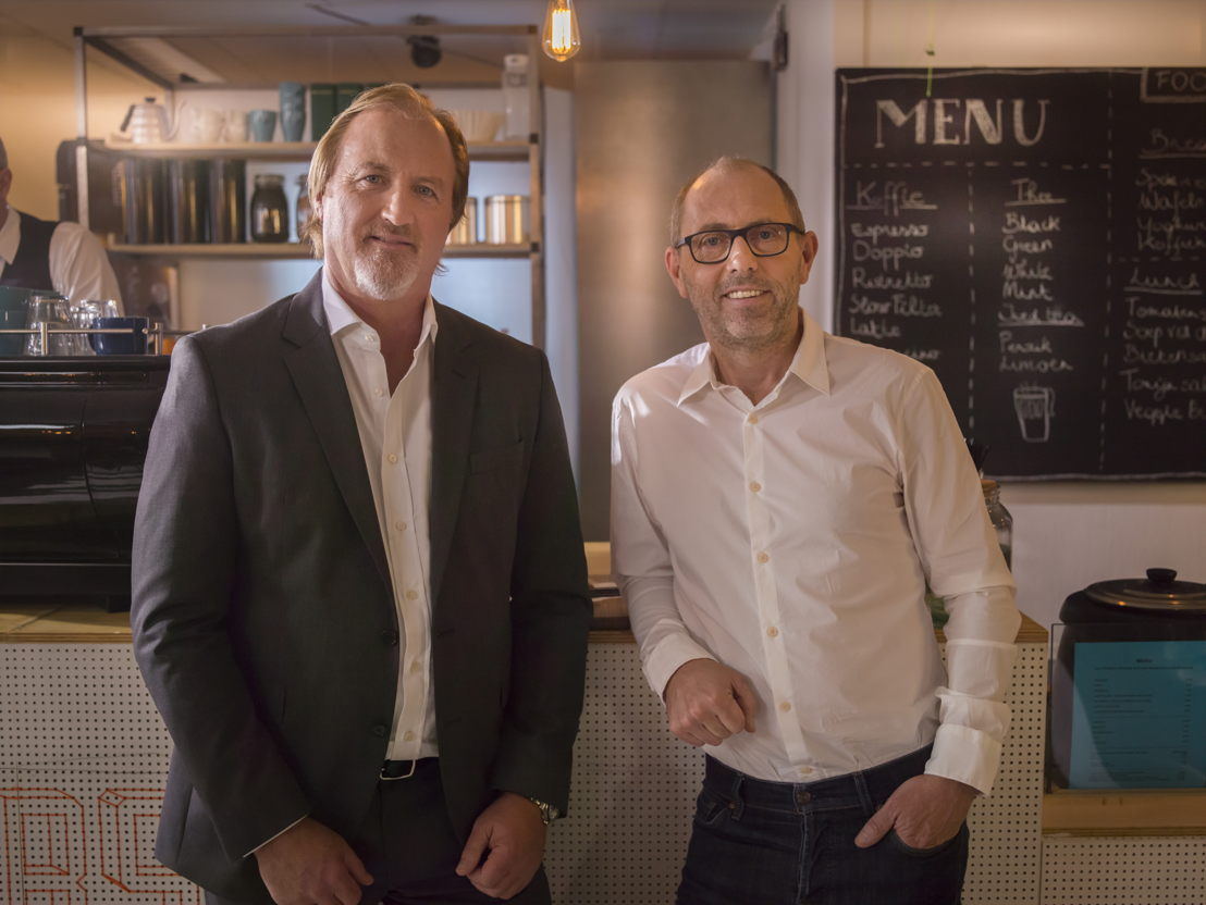 Telenet CEO John Porter & Base Company CEO Jos Donvil