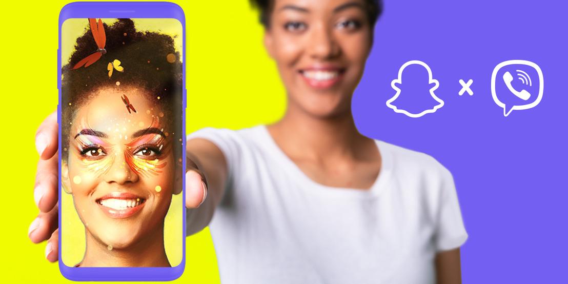 Rakuten Viber представя филтри с добавена реалност (AR) в партньорство със SNAP