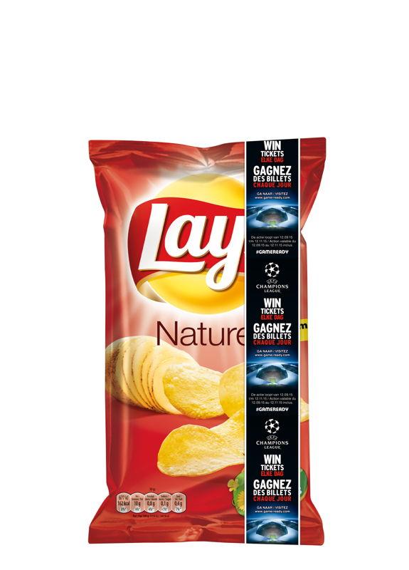 #GAMEREADY Banner Lay's  Natural Visual