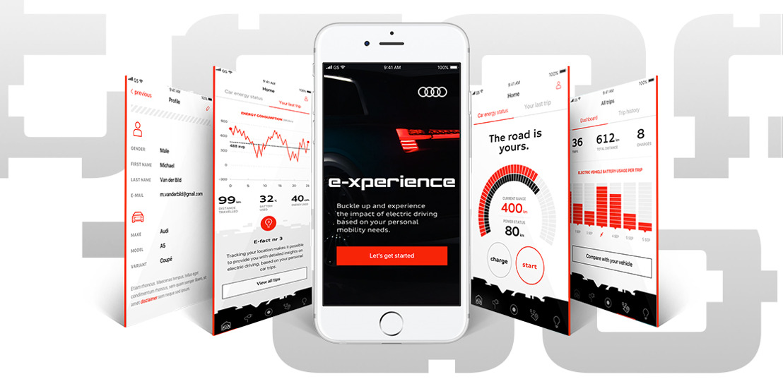 Audi and Prophets invite you for an electric driving e-xperience.